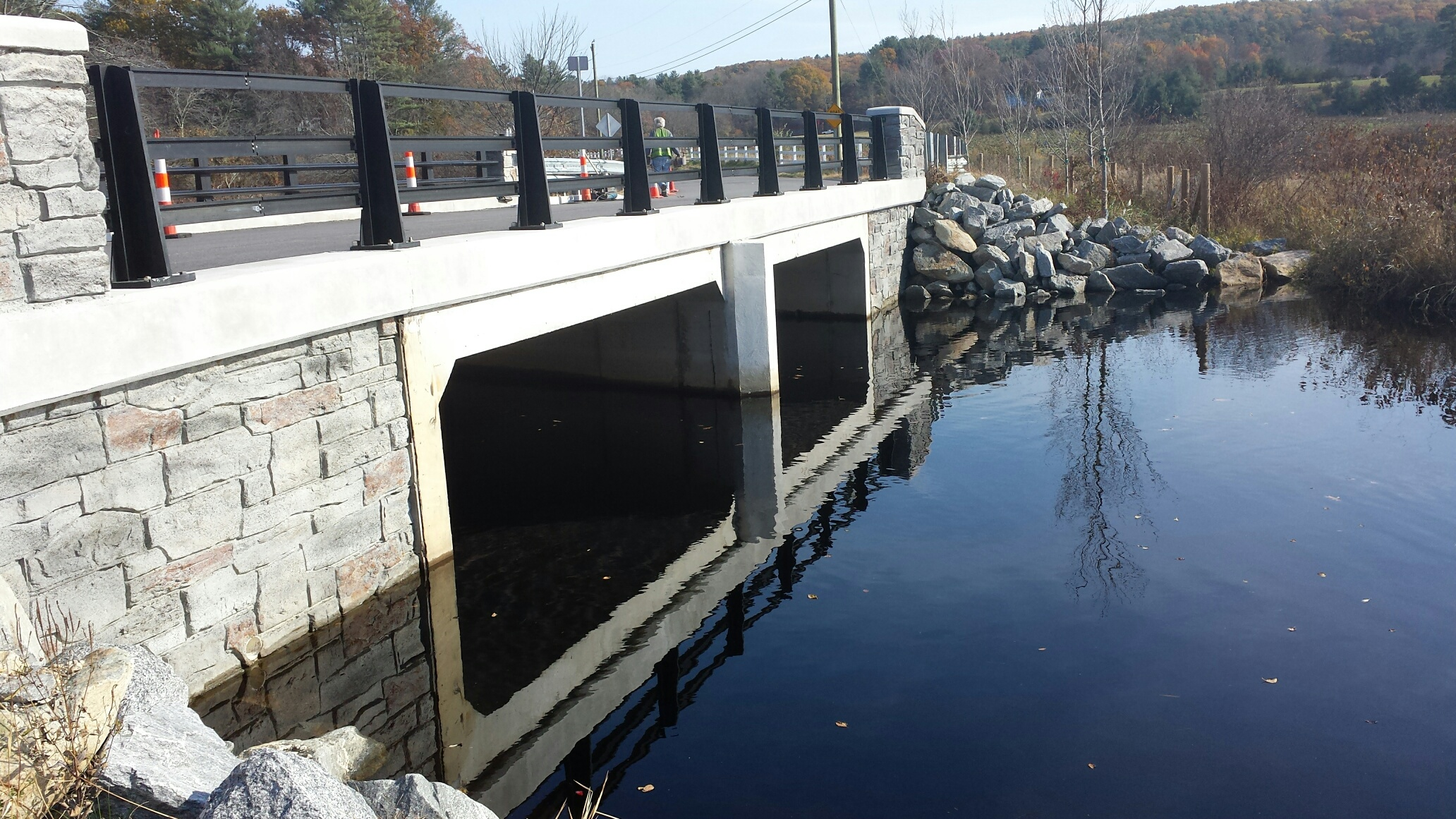 Chase Road Bridge Staining Complete 11-2-16 (2)